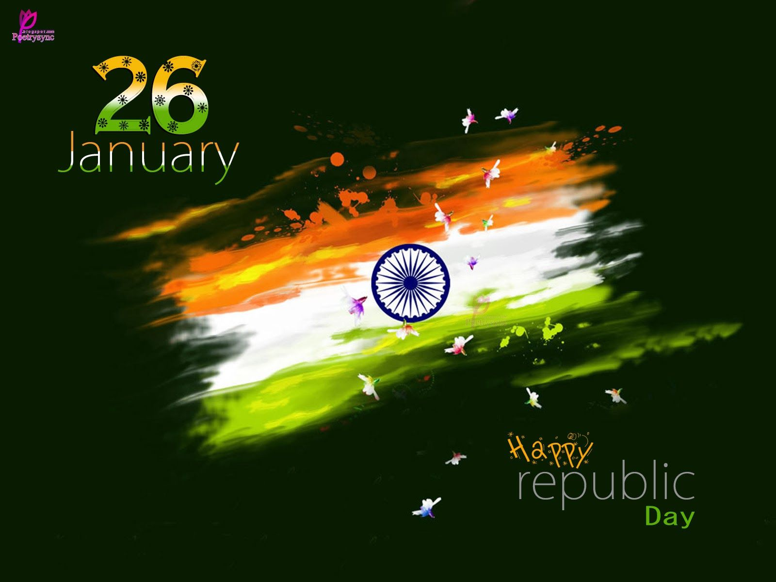 indian republic day flag hd wallpaper 26 january wishes picture