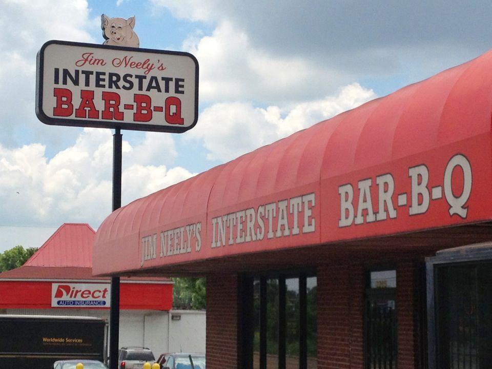 Jim Neely S Interstate Bar B Que Nashville Trip Interstate Bbq