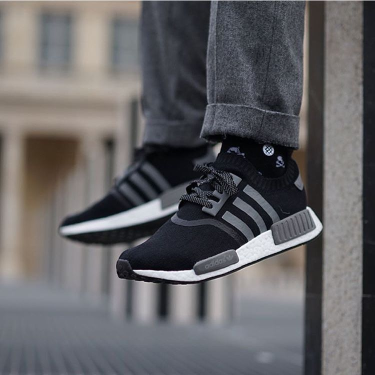 men's adidas nmd runner black