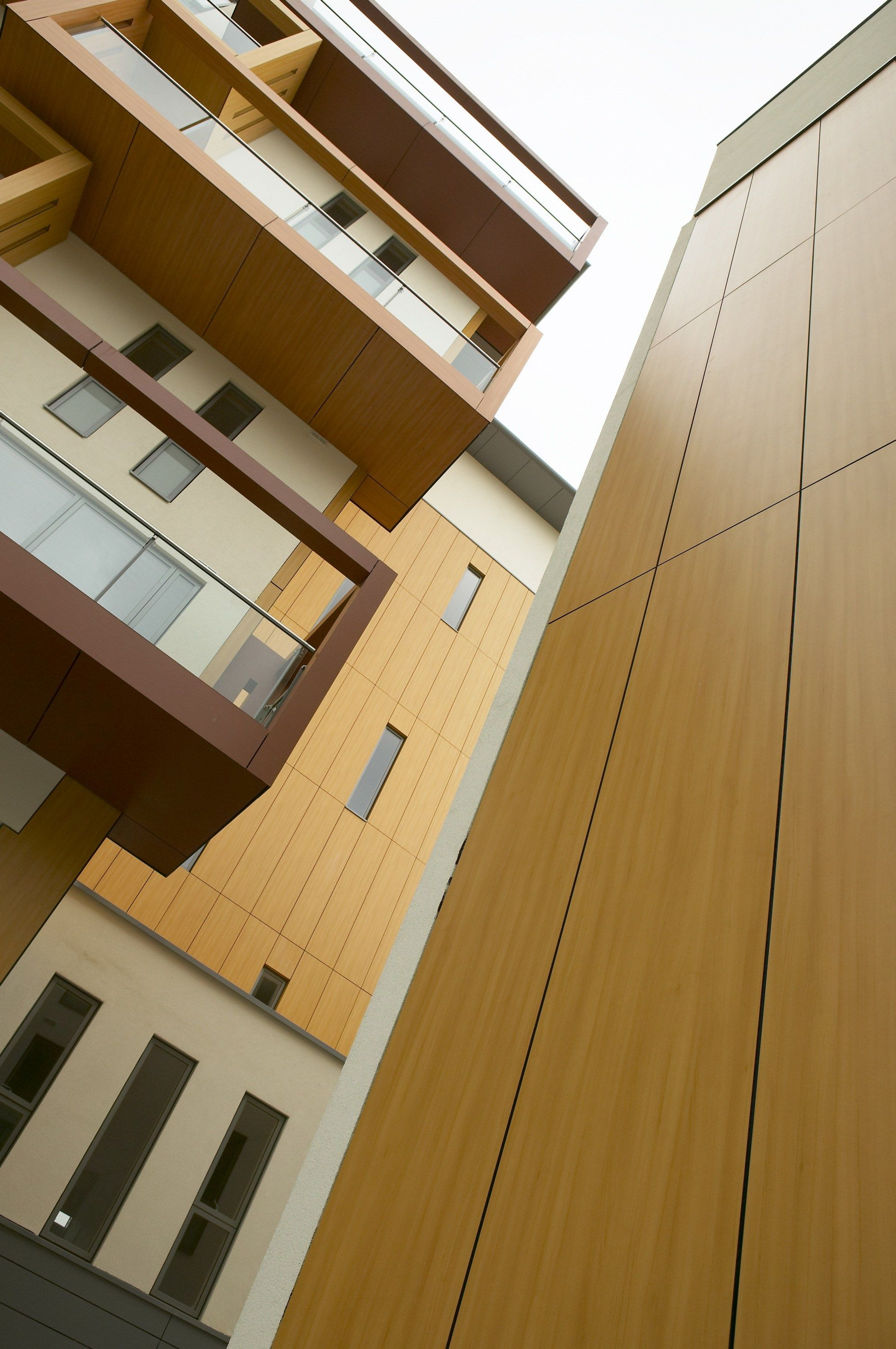 HPL WALL PANEL WITH WOOD EFFECT TRESPA® METEON® | WOOD DECORS BY ...