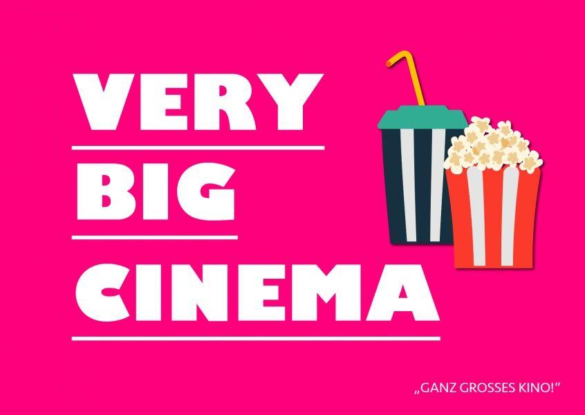 Very big cinema | Denglisch 🇺🇸🇩🇪🇬🇧😂 | Echte Postkarten ...