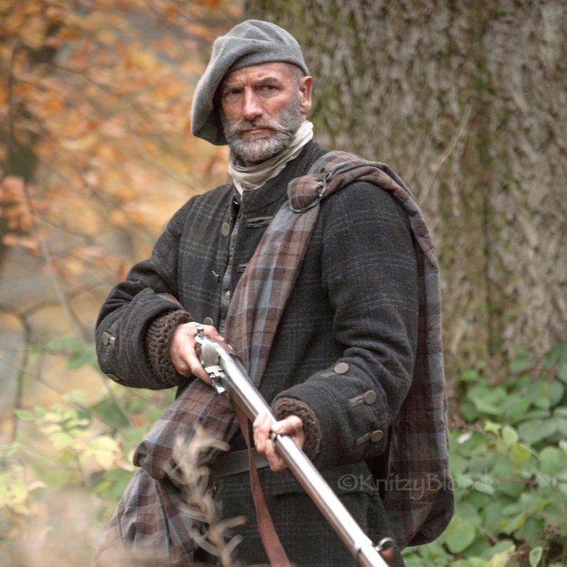 Photo of PDF Knitting Pattern, Scottish Highlands Tam, Scottish Bonnet Beret, Hand knit, hand felted