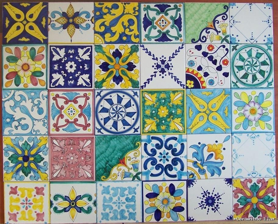 maiolica piastrelle - Căutare Google  Ceramics ...