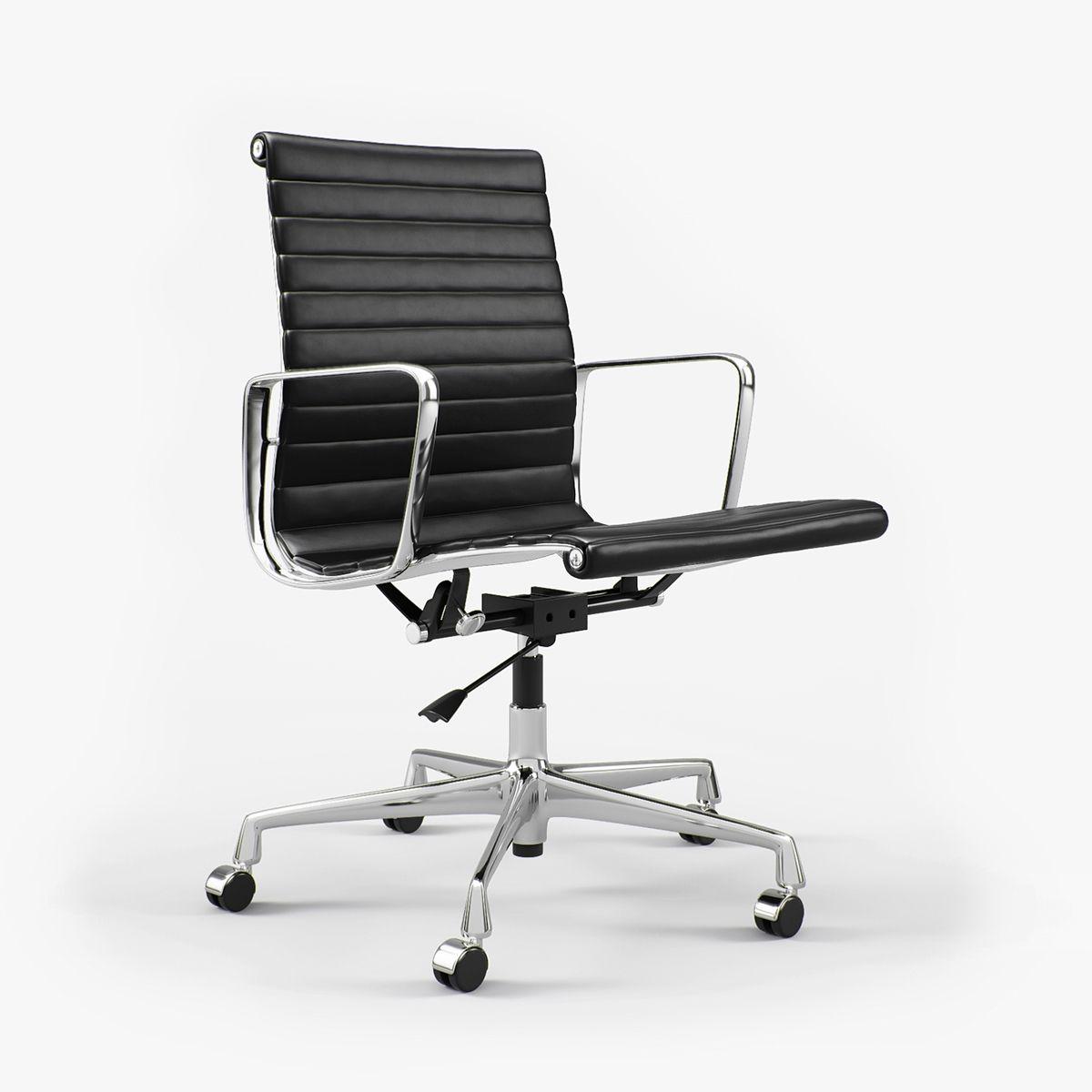 Vitra Charles Ray Eames Aluminium Chair Ea 117 I 3d Eames Bürostuhl Modernes Möbeldesign Bürostuhl