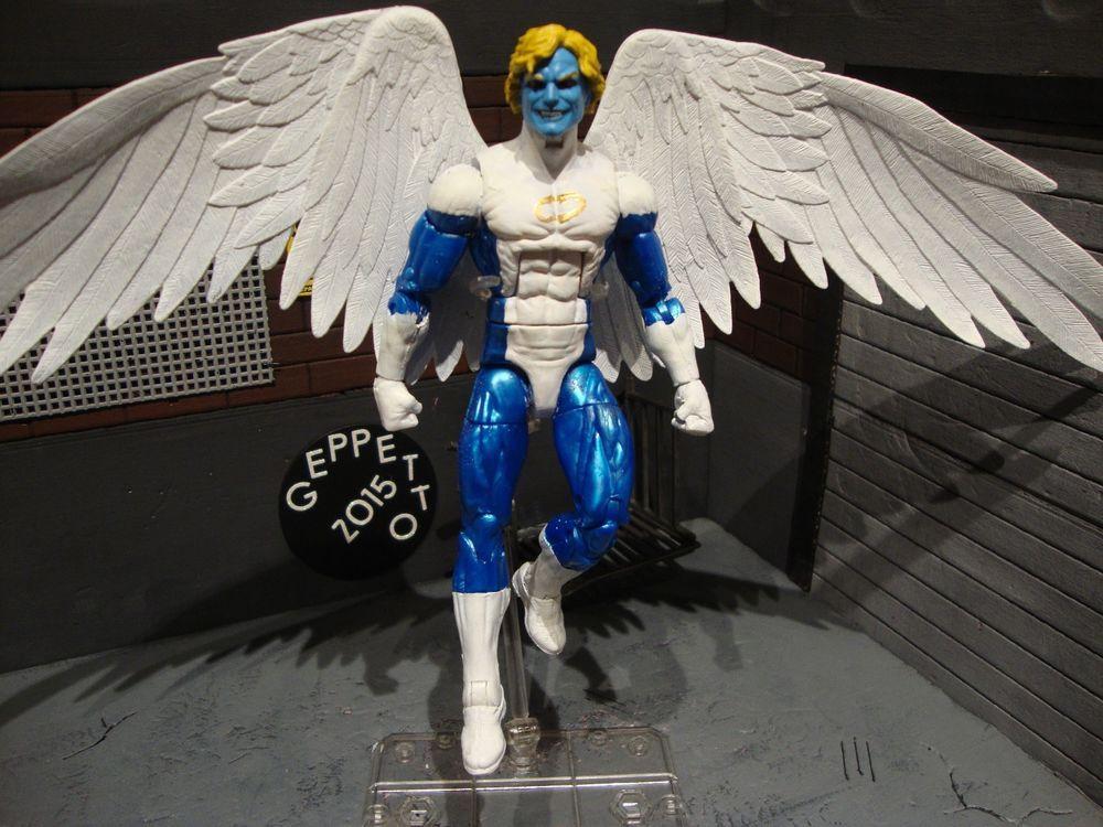 MARVEL LEGENDS ARCHANGEL ANGEL X MEN FACTOR FORCE EXCALIBUR NEW FIGURES MODEL
