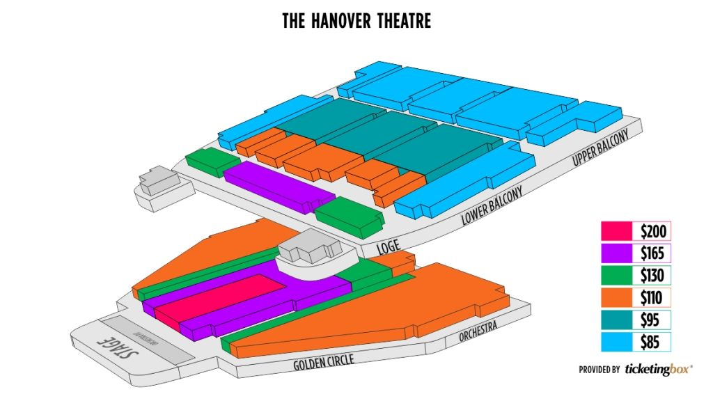 The Brilliant Hanover Theater Seating Chart In 2020 Theater Seating Seating Charts Chart