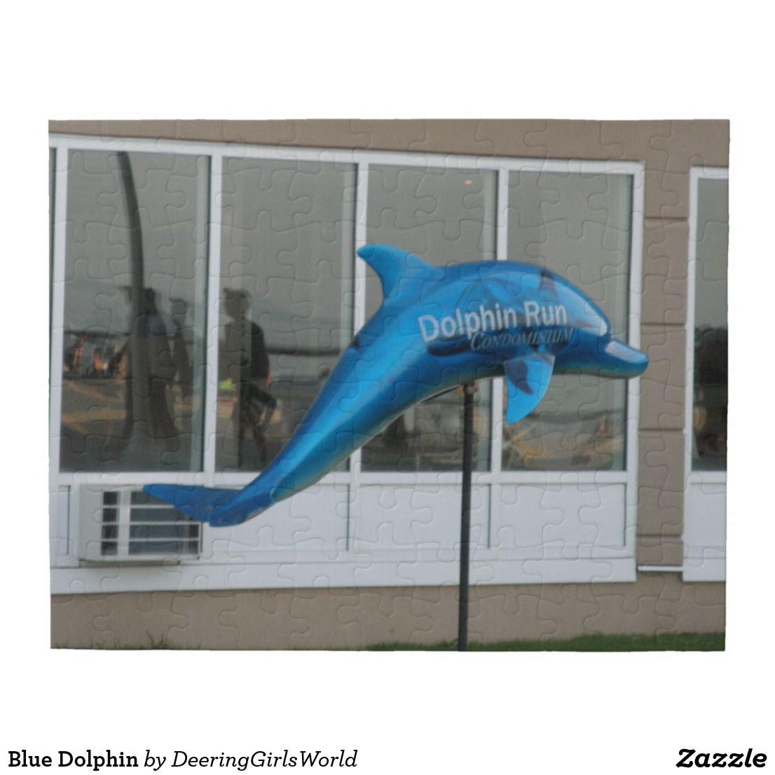 Blue Dolphin Jigsaw Puzzle