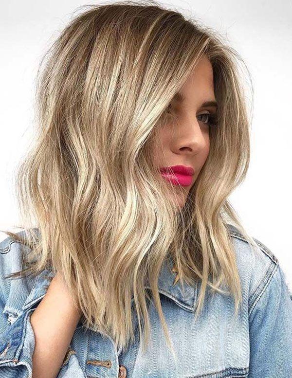 32 Kare Hairstyle Ideas You Will Love Balayage Blondes Haar Balayage Blondes Haar Hairstyle Ideas Kare Love Balyaj Sac Balyaj Sac Rengi