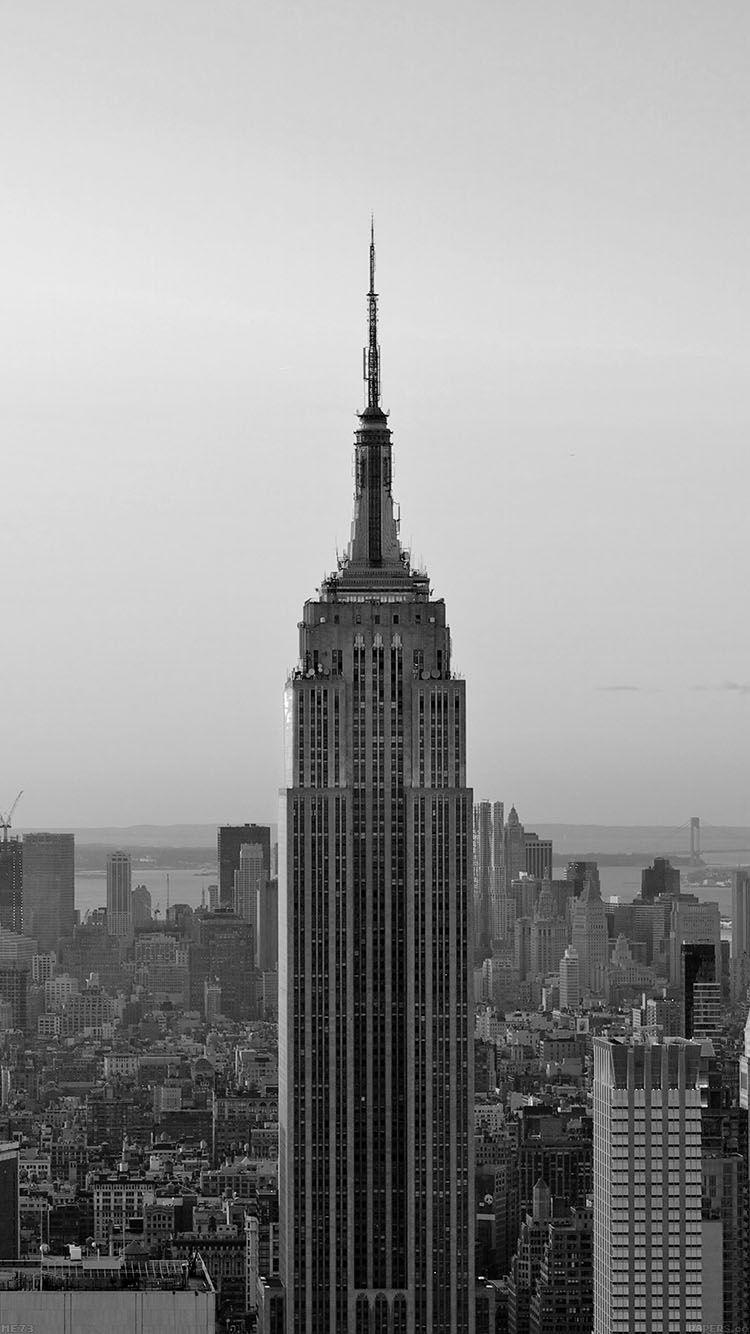 Get Wallpaper Iphone6papers Me73 Dusk Dark New York Skyline City Via IPhone6papers
