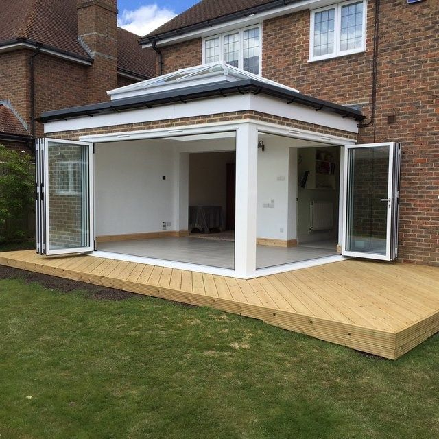 Project: Contemporary Orangery | Orangery extension ...