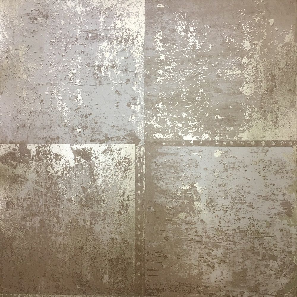 holden decor metal panel wallpaper - slightly textured metallic