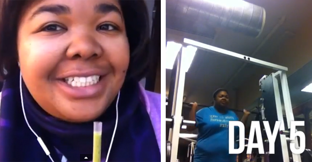 This Woman's 100-Day Time-Lapse Video Will Convince You Working Out Can  Change Your Life Forever