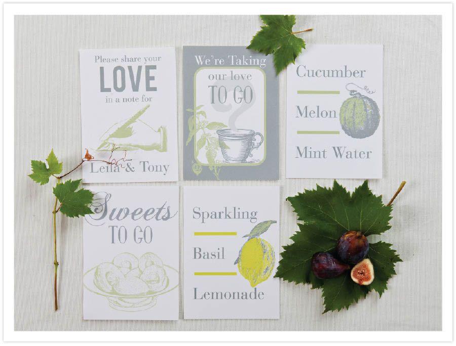 Green Fig wedding invitation in Martha Stewart Weddings ...
