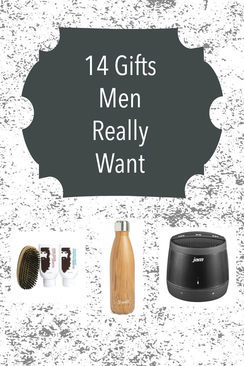 14 Gifts Men Really Want