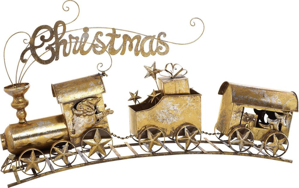 Transpac Imports, Inc Metal Christmas Banner Train #TranspacImportsInc