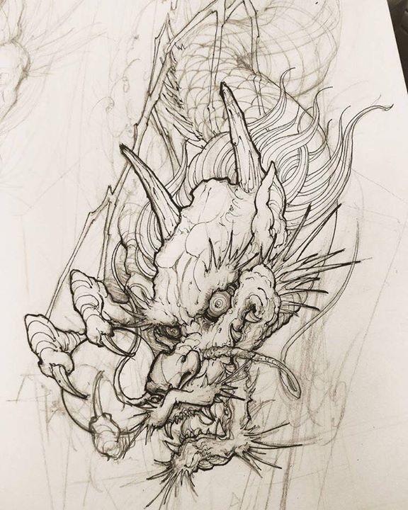 Tatuagens Artísticas, Dragão