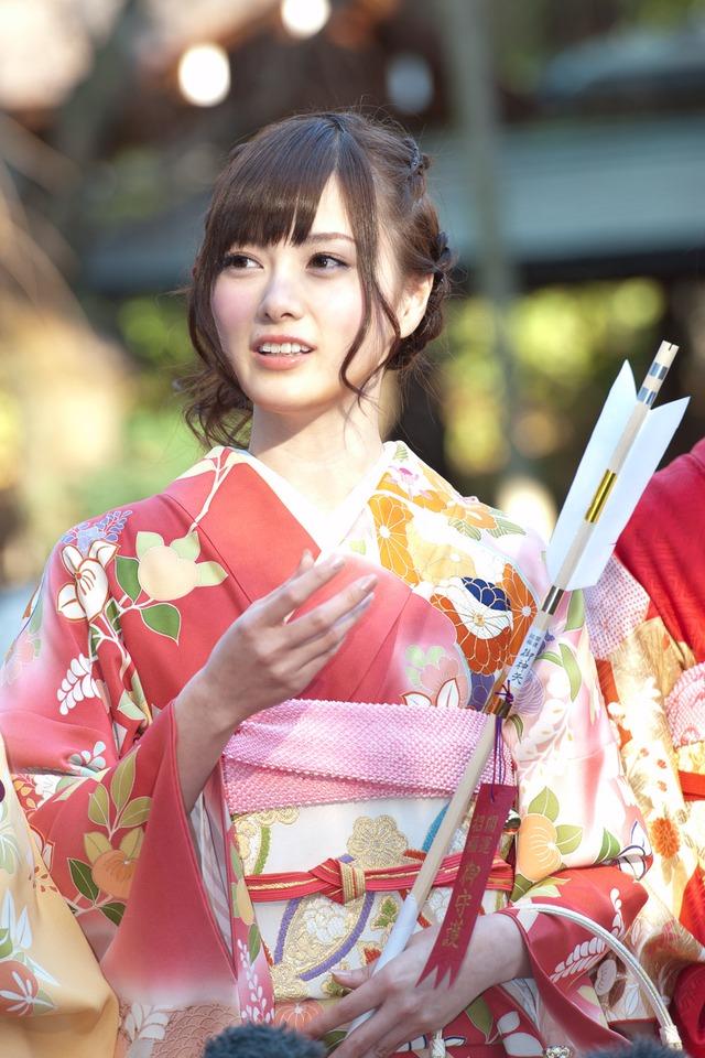 #白石麻衣  #乃木坂46#成人式#振袖#晴れ着  #乃木神社