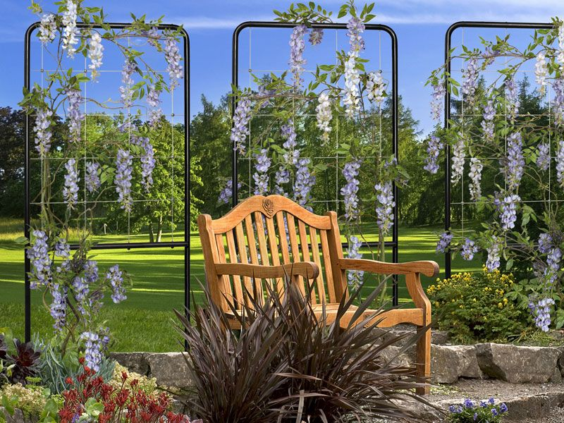 Beautiful Free Standing Trellis Ideas Part - 9: 7+ Awesome DIY Garden Trellis Projects For Your Home