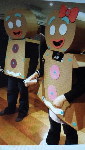 Diy Gingerbread Man Costume Costume Inspiration