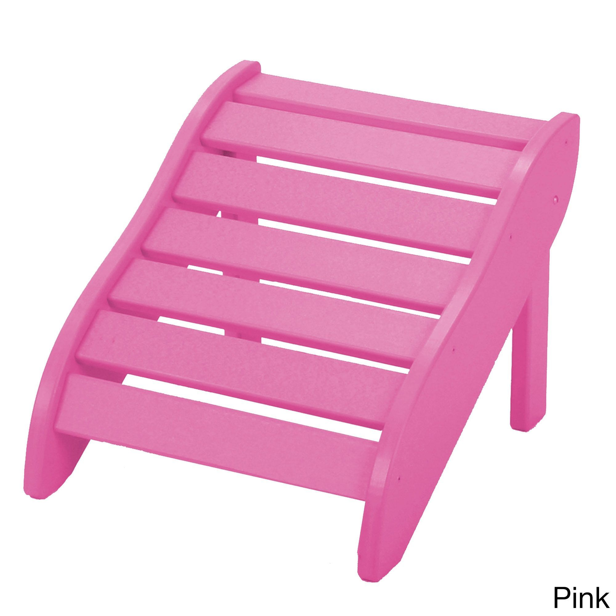 Durawood Gartenmöbel Pawley S Island Foot Rest Pink Size Single Patio Furniture