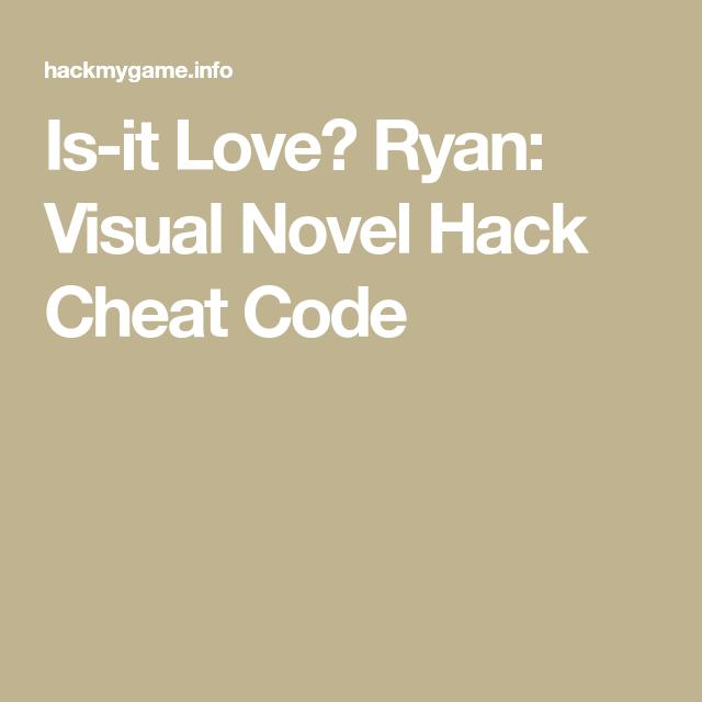 Is it love drogo vampire hack cheat code life hacks drogo vampire hack cheat code life hacks pinterest life hacks fandeluxe Choice Image