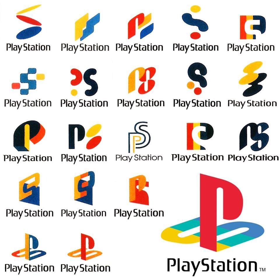 Ps1 Logo Concept Art