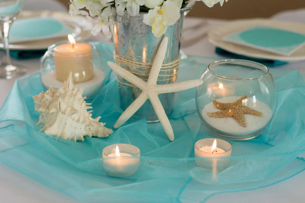 Sand Pearls and Starfish Wedding Party Ideas in 2019