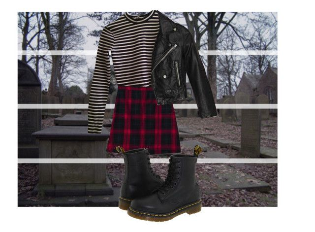 """""""know me broken by my master"""" by vikyarmstrong ❤ liked on Polyvore featuring T By Alexander Wang, Lands' End, Nasty Gal and Dr. Martens"""