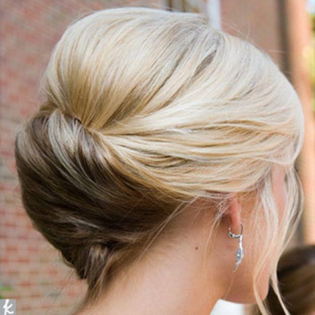 Bridal blonde bridesmaid Hair Updo | Make-up and Hair for Wedding ...
