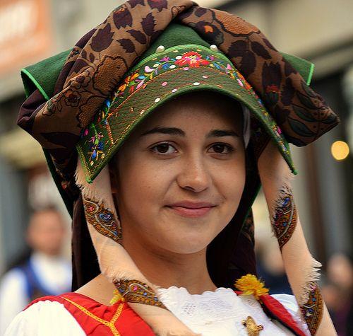 Costume di Samugheo Festa di Sant'Efisio - 356° edizione