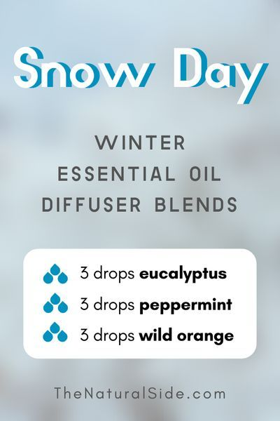 16 Winter Essential Oil Diffuser Blends To Get in the Holiday Spirit #winterdiffuserblends