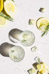 EASY 3-INGREDIENT ROSEMARY LEMONADE / SUMMER DRINK - ~*~ Alcohol Is Bea ~*~ - #3Ingredient #Alcohol #bea #Drink #Easy #Lemonade #Rosemary #Summer #easylemonaderecipe