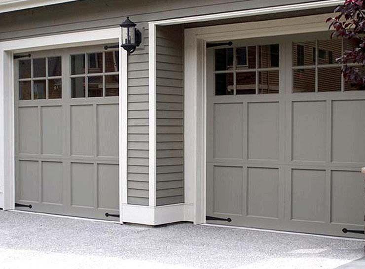 Exceptional Used Garage Door Panels #12 Carriage Garage ... on Garage Door Color Ideas  id=59464