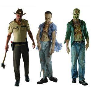 The Walking Dead,Zombie, Ugly mask,Decomposed Zombie,Dead Patient,Rick Grimes Set