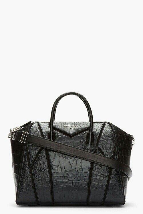 Givenchy Men's Crocodile Bag. Men's Fall Winter Fashion. If you dare to pull this off... def takes that kind of man