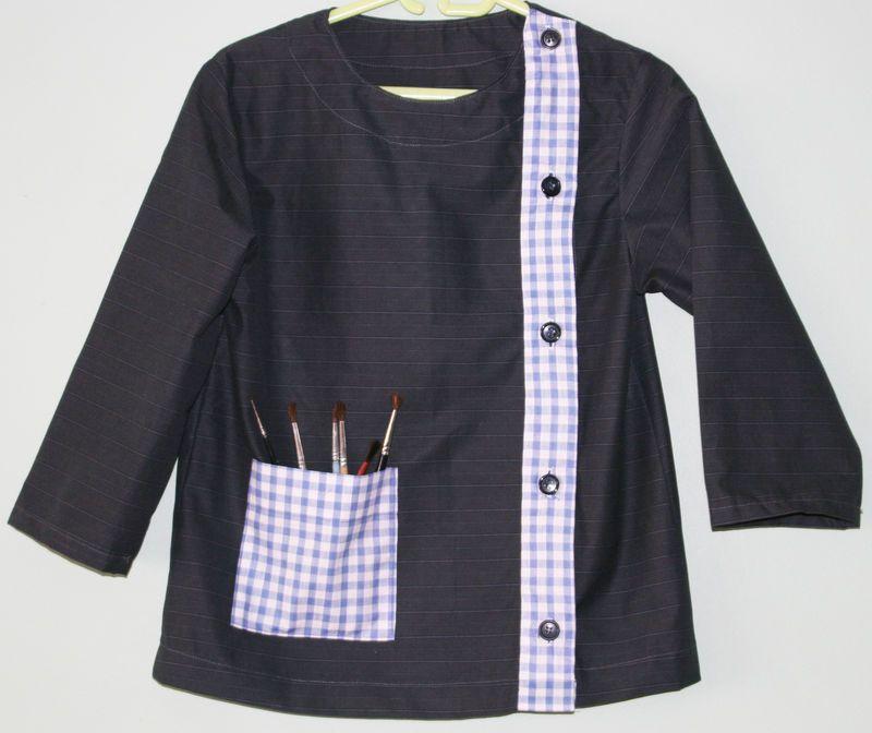 la blouse d 39 colier le tuto les pingles de poupette. Black Bedroom Furniture Sets. Home Design Ideas