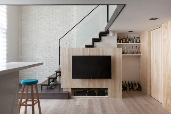 Best A Modern Loft With Character Staircase Design Modern 400 x 300