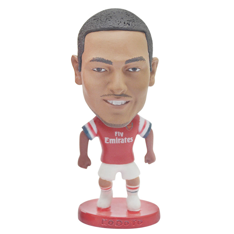 2020 New Arrivals Uefa Euro 2020 Arsenal Soccer Player Collectible Toys Football Action In 2020 Collectible Toys Action Figures Gifts For Football Fans Arsenal Soccer