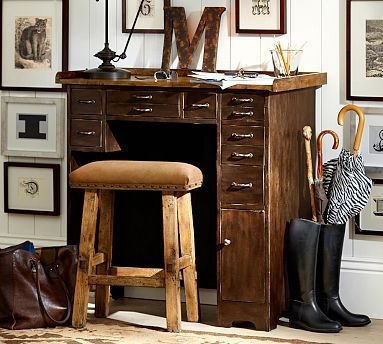 Portland Desk #potterybarn I Must Have This.saw It In Store Now I Am
