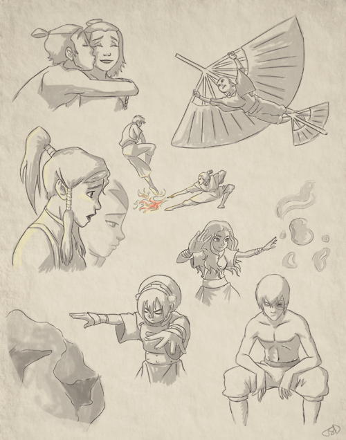 Avatar: The Last Airbender Drawings #avatarthelastairbender