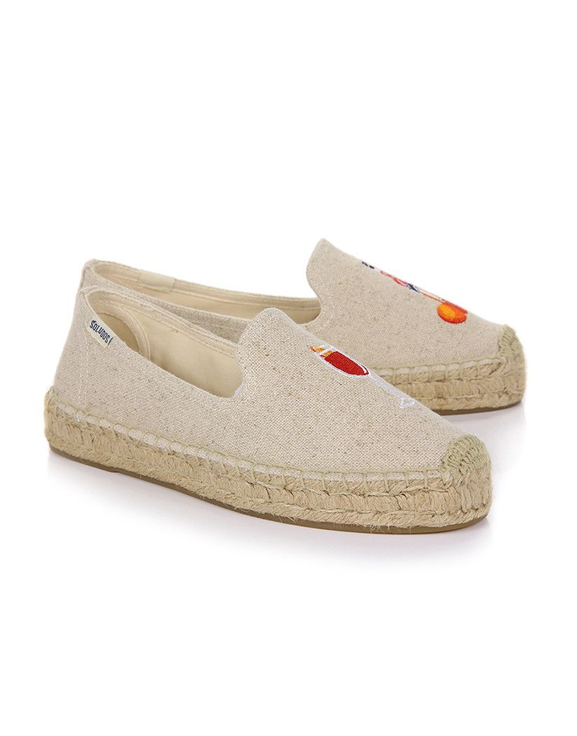 cad5a8765f The Spritz Smoking Slipper Platform Espadrilles by Soludos are perfect for  the warm summer season thanks to their breathable Cotton canvas uppers, ...