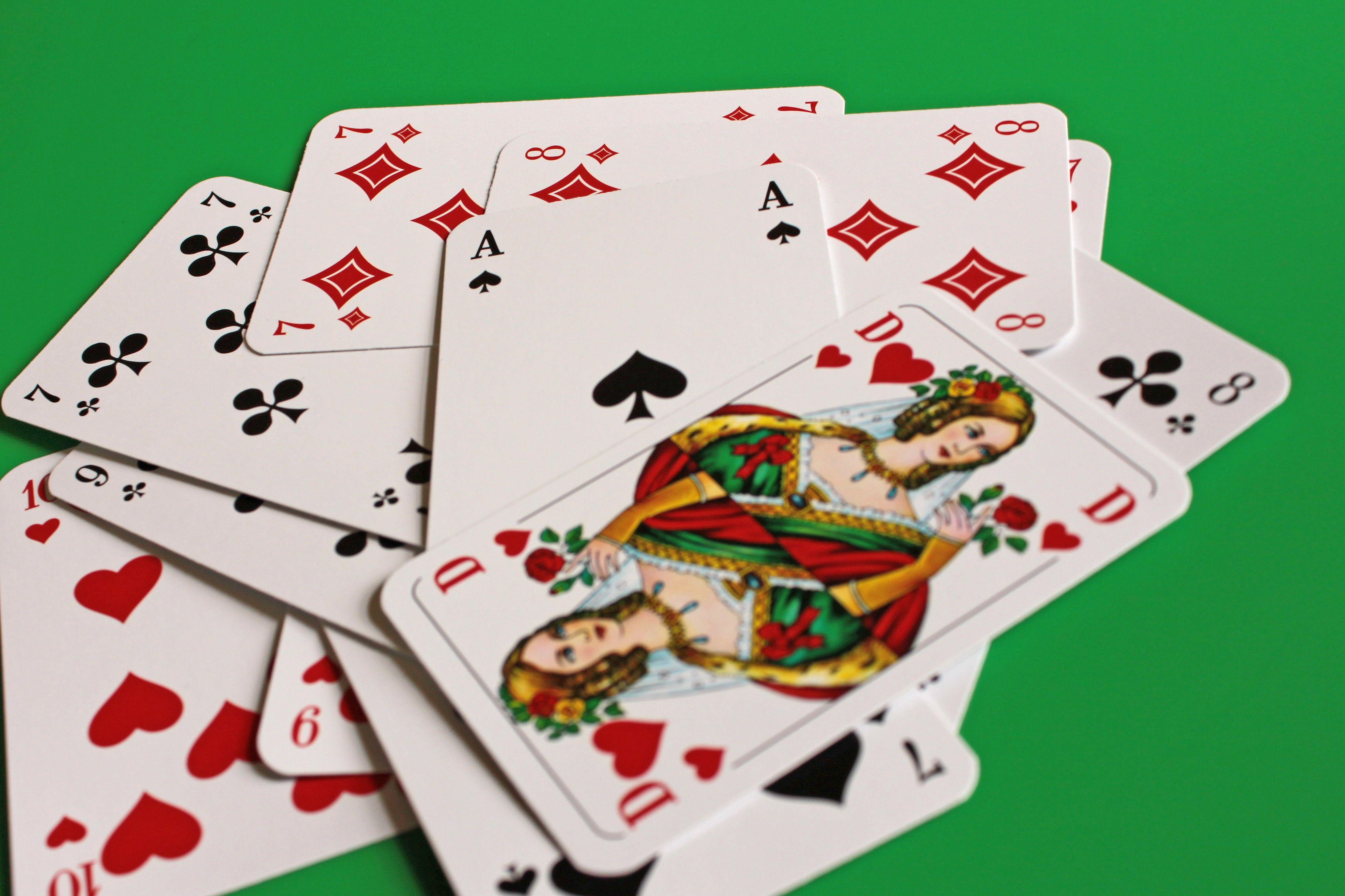 Kartenspiel Romme Regeln