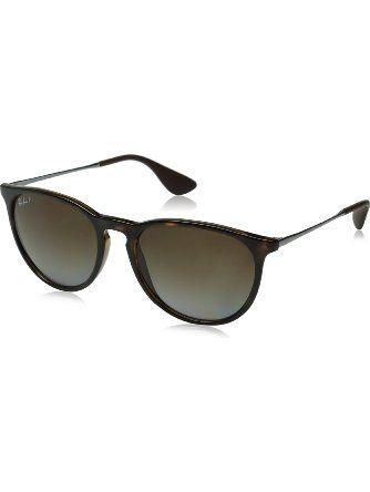 ray ban erika havana frame polar brown gardient lenses 54mm polarized ray ban sunglasses. Black Bedroom Furniture Sets. Home Design Ideas