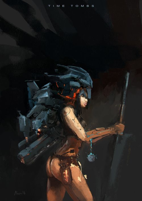 ArtStation - Character Sketch by Sergey Musin...