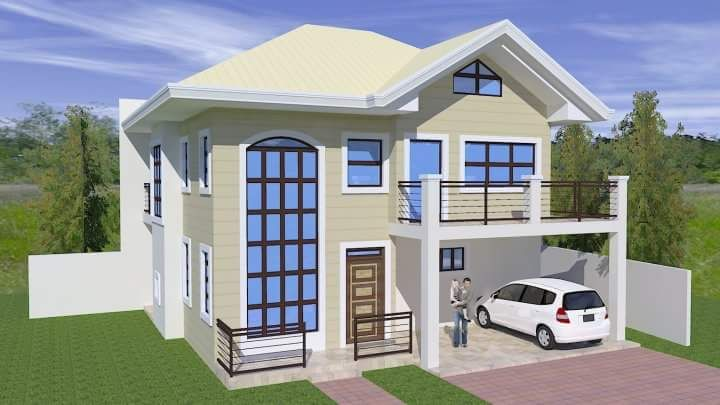 20 photos of small beautiful and cute bungalow house for Beautiful bungalow designs