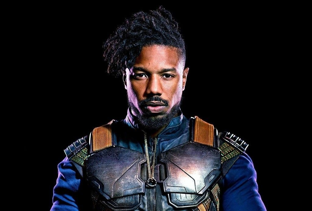 Black Panther Michael B Jordan 2018 Movie Actors Wallpaper Michael B Jordan Black Panther Marvel Black Panther