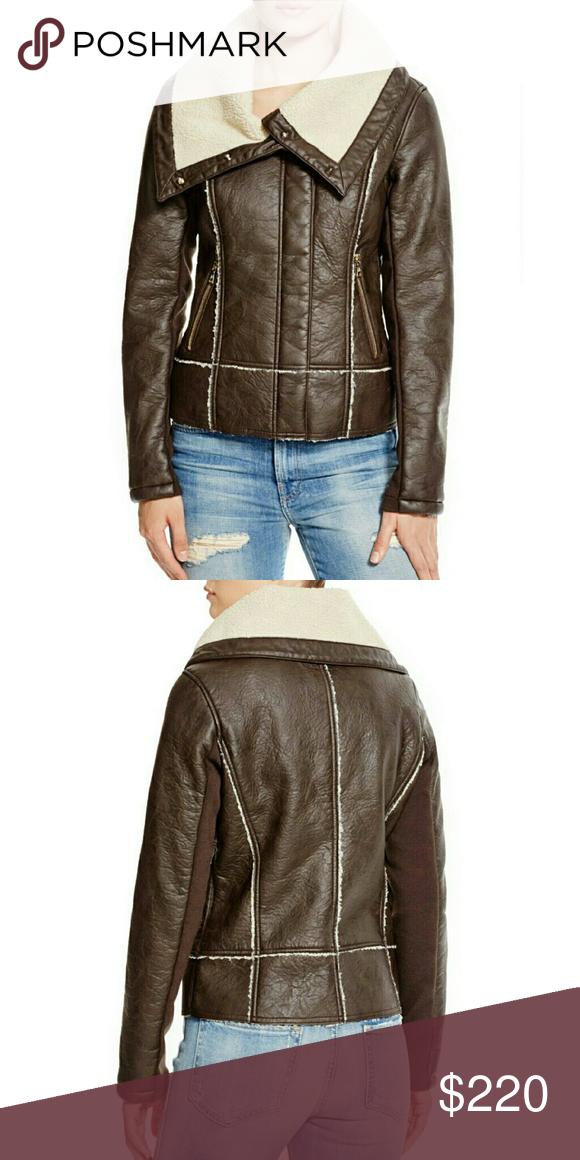Sam Edleman Vegan Leather Bomber Jacket NWT Fashion