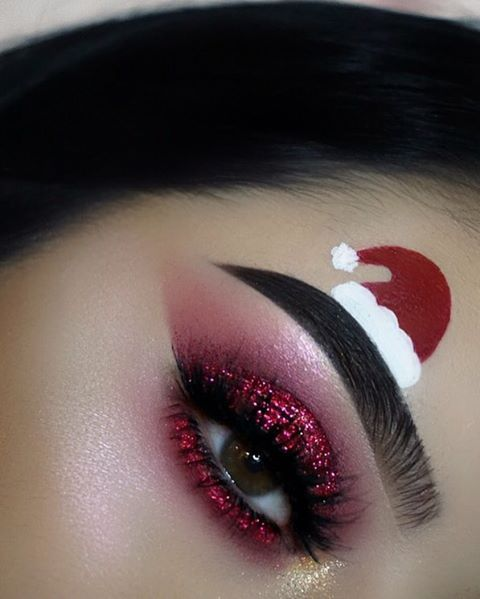 Pinterest Tyger Blaze Christmas Eye Makeup Christmas Makeup Look Makeup
