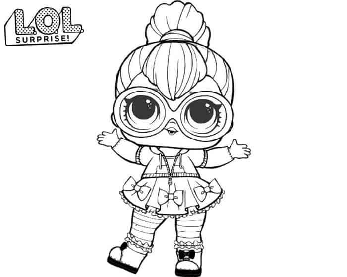 Lol Dolls Printable Coloring Pages Unicorn Coloring Pages Coloring Pages Bee Coloring Pages