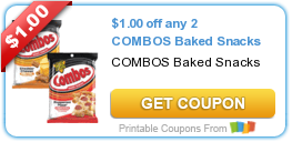 Tri Cities On A Dime: SAVE $1.00 ON ANY 2 COMBOS BAKED SNACKS